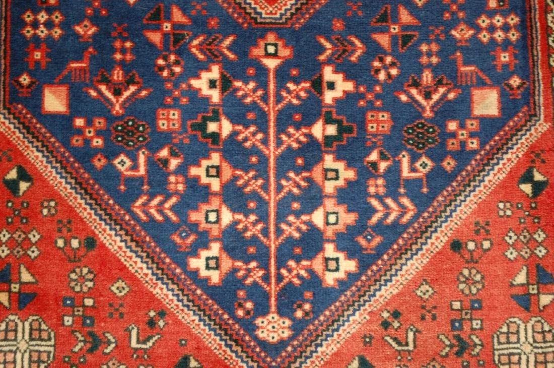 Persian Shiraz Qashkai Folklore Rug 1.10x2.11 - 4