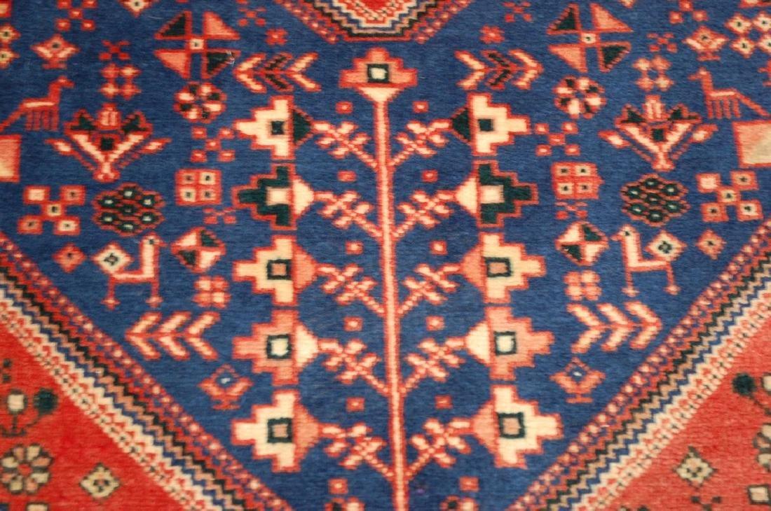 Persian Shiraz Qashkai Folklore Rug 1.10x2.11 - 5