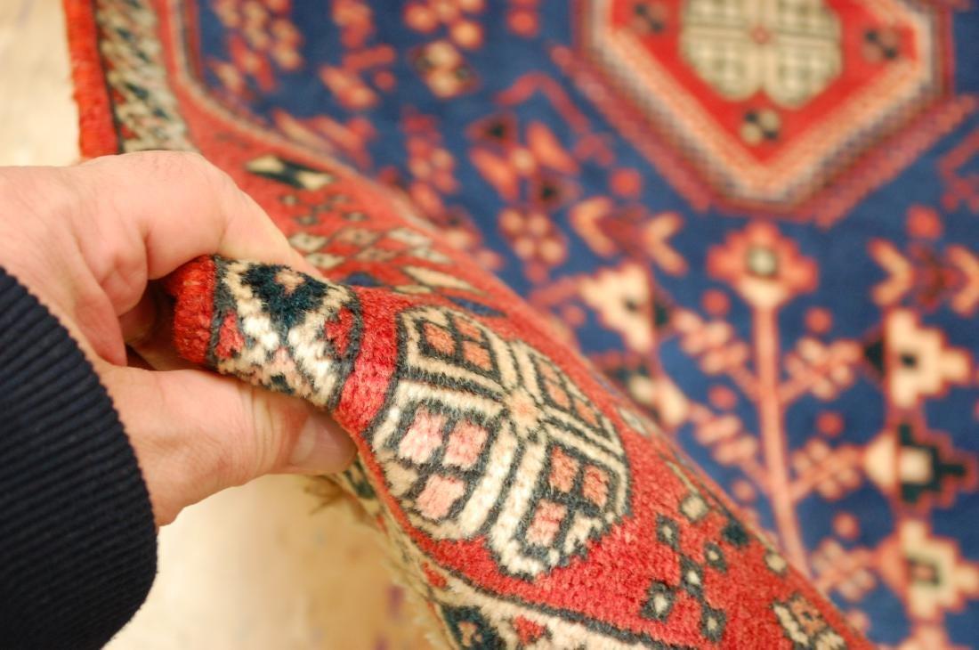 Persian Shiraz Qashkai Folklore Rug 1.10x2.11 - 6