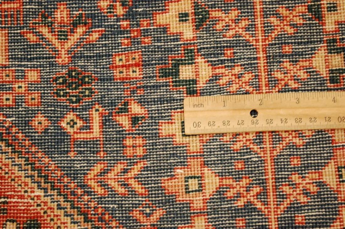 Persian Shiraz Qashkai Folklore Rug 1.10x2.11 - 7