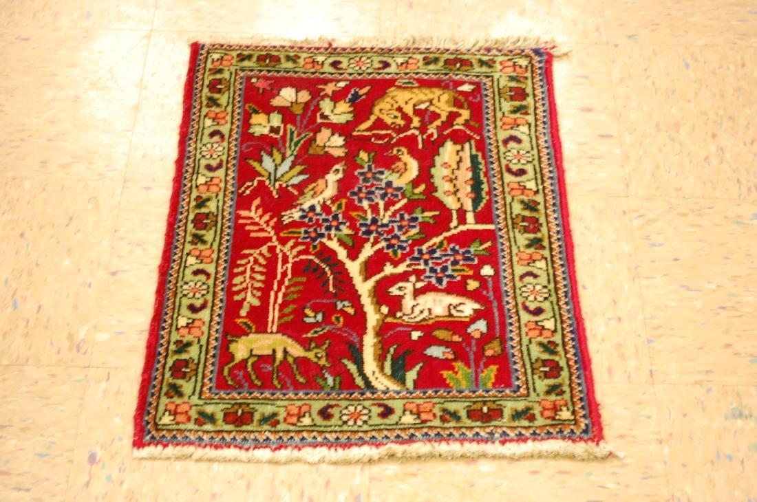 Detaled Persian Tabriz Rug 1.7x2.3