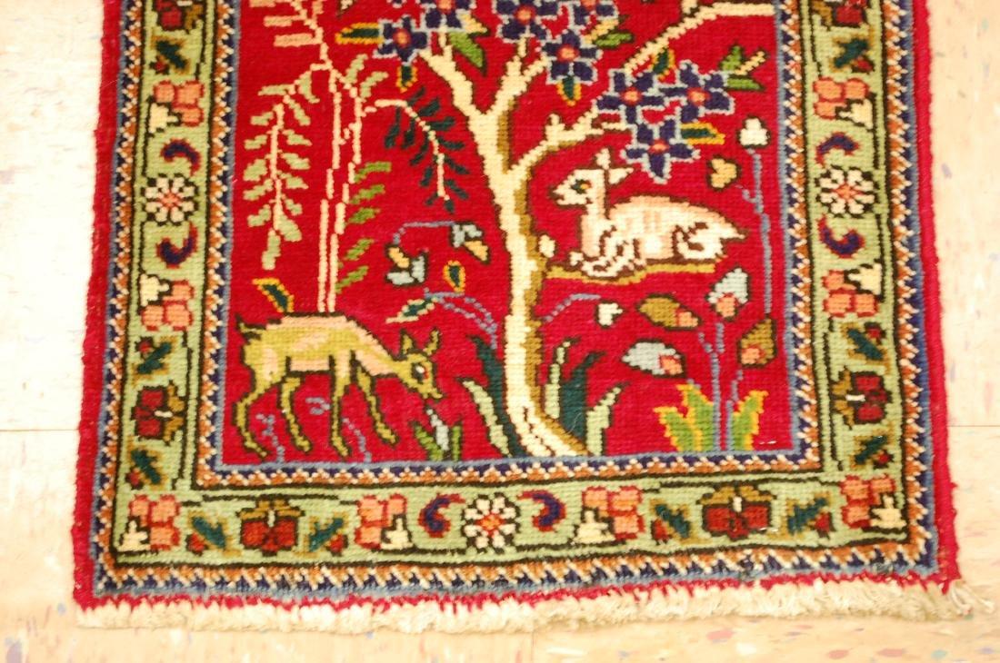 Detaled Persian Tabriz Rug 1.7x2.3 - 2