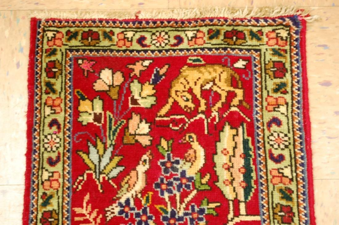 Detaled Persian Tabriz Rug 1.7x2.3 - 3
