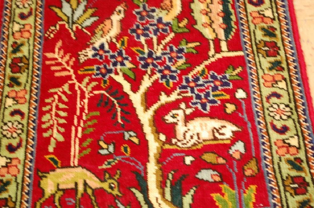 Detaled Persian Tabriz Rug 1.7x2.3 - 4