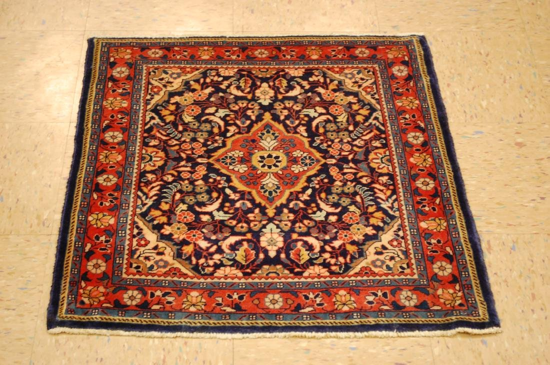 Fine Persian Sarouk Rug 2.4x2.8