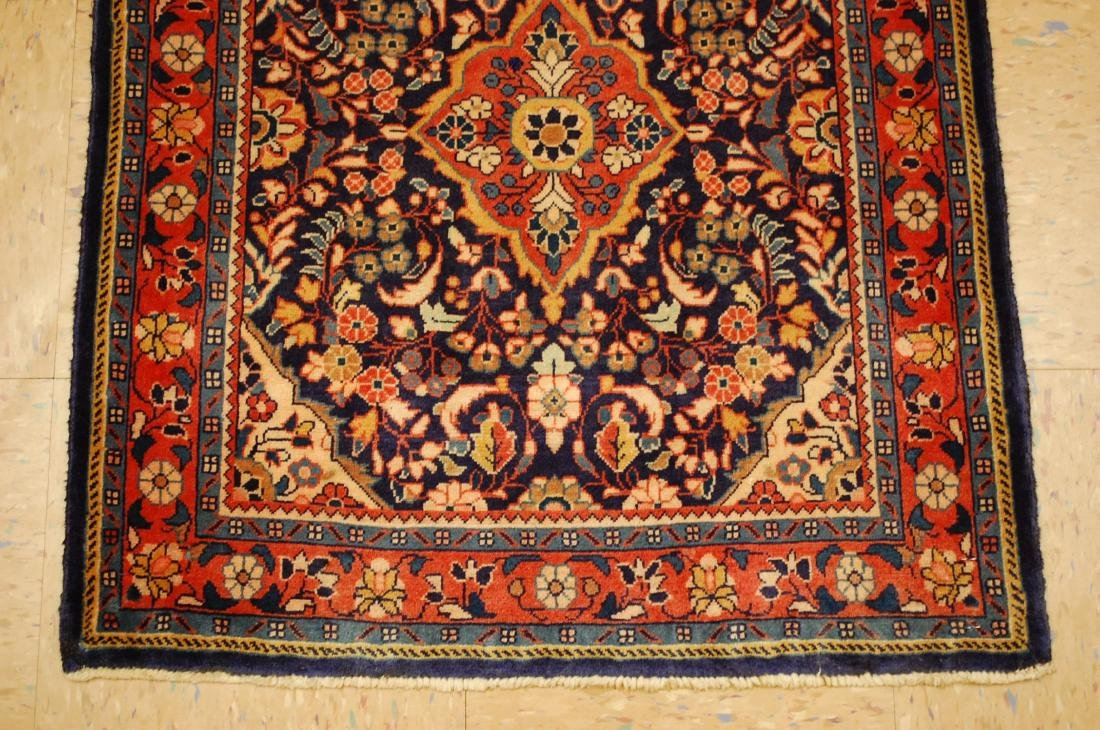 Fine Persian Sarouk Rug 2.4x2.8 - 2