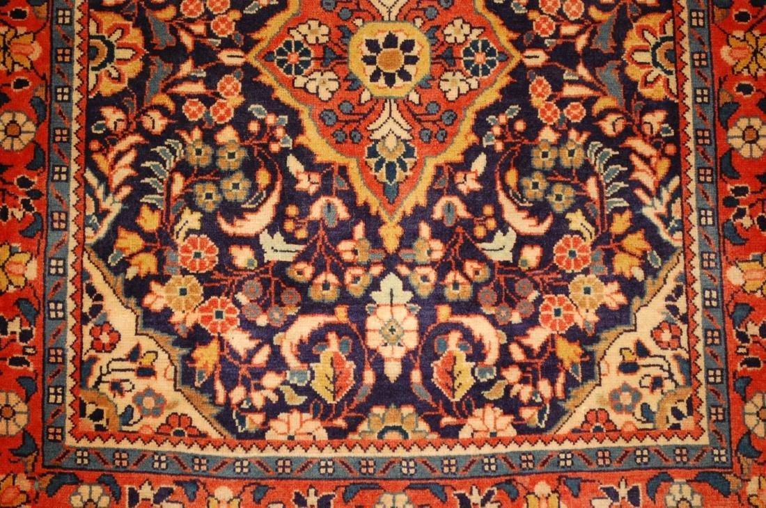 Fine Persian Sarouk Rug 2.4x2.8 - 4