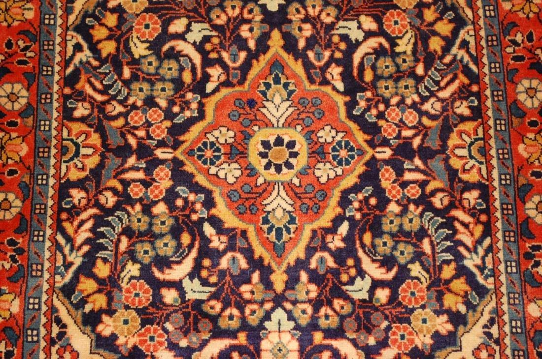 Fine Persian Sarouk Rug 2.4x2.8 - 7