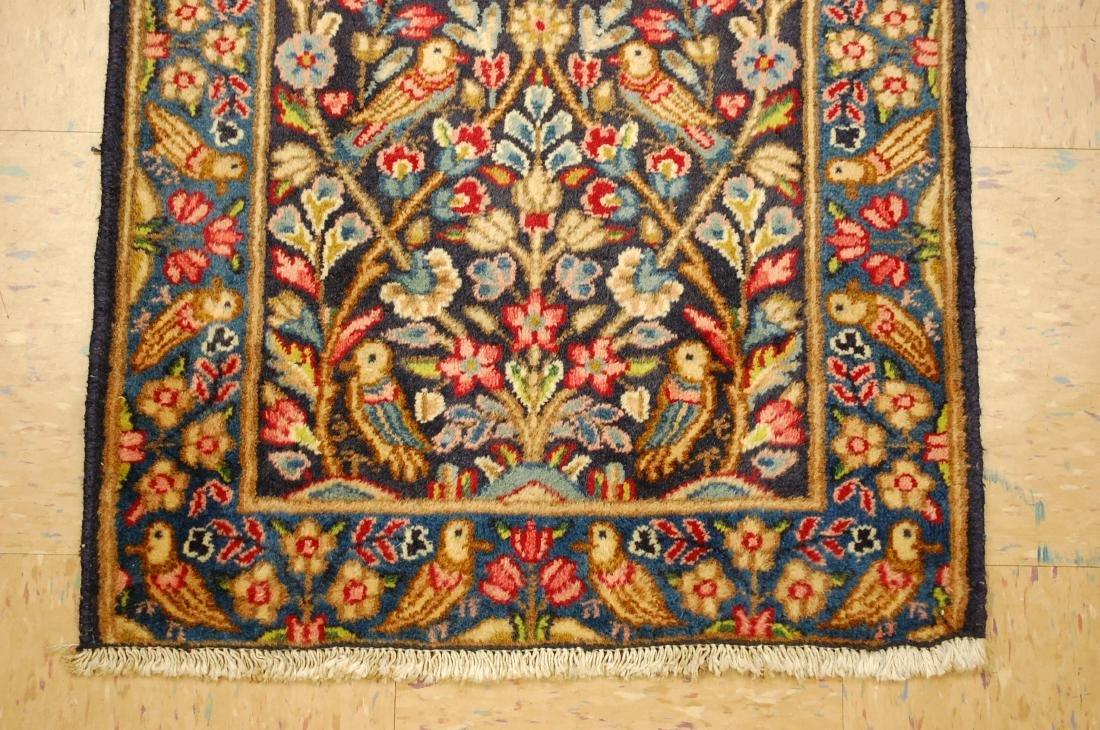 Persian Kerman Bird Subjects Rug 2.1x2.10 - 2