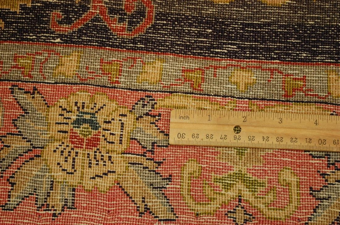 Kork Wool High Kpsi Persian Kashan Rug 2.3x3.3 - 7