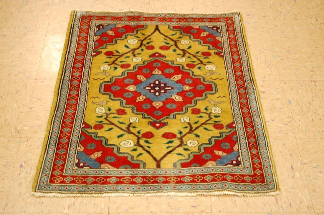 Caucasian Kazak Design Caucasian Rug 2.5x3.3