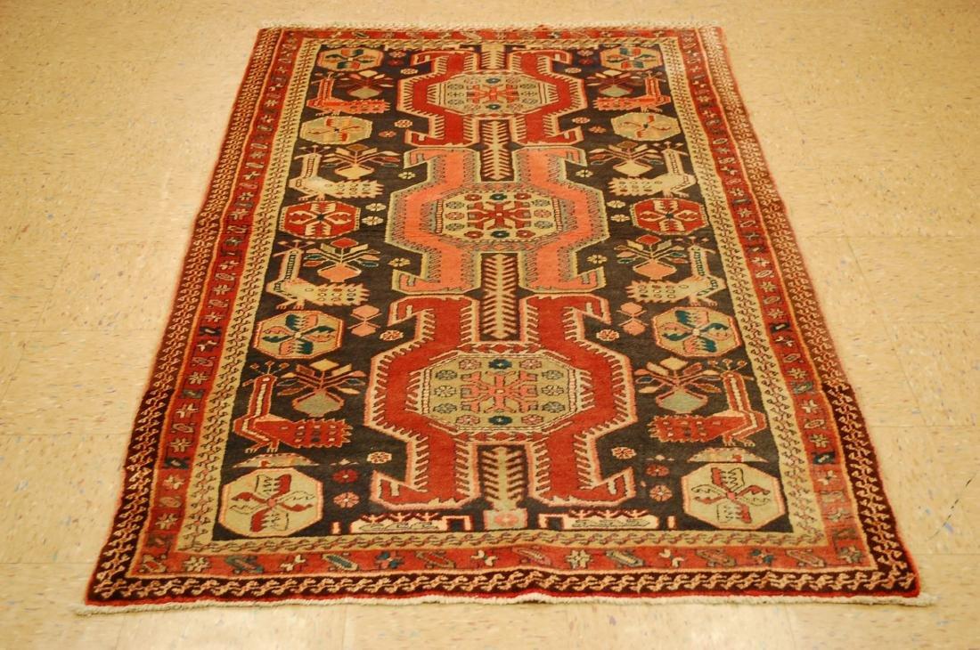 Caucasian Kazak Design Caucasian Rug 4x6.10