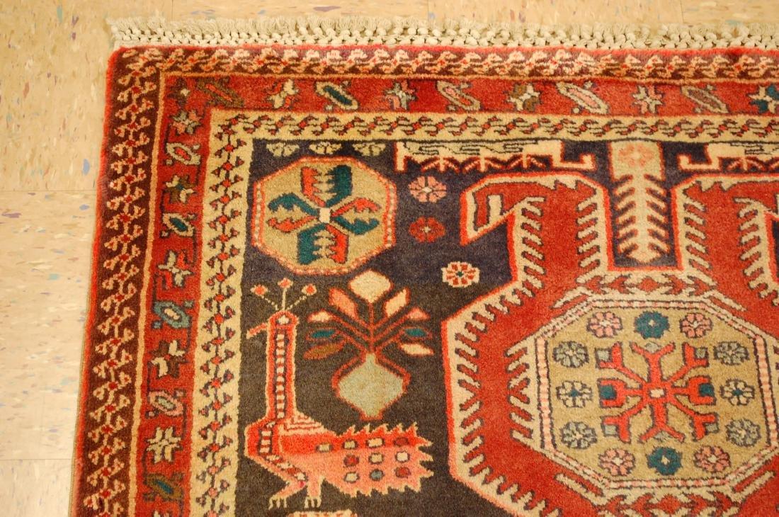 Caucasian Kazak Design Caucasian Rug 4x6.10 - 4