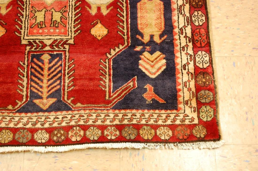 Caucasian Lankoran Kazak Design Runner Rug 3.9x10 - 2