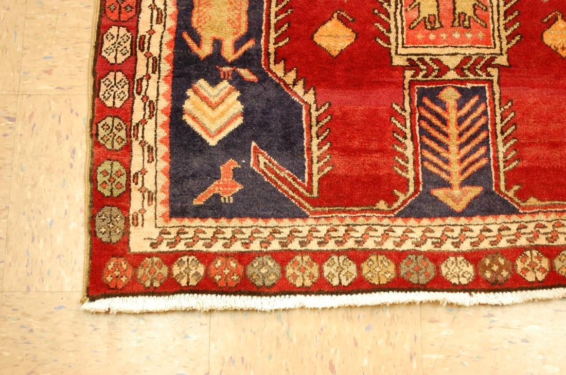 Caucasian Lankoran Kazak Design Runner Rug 3.9x10 - 3