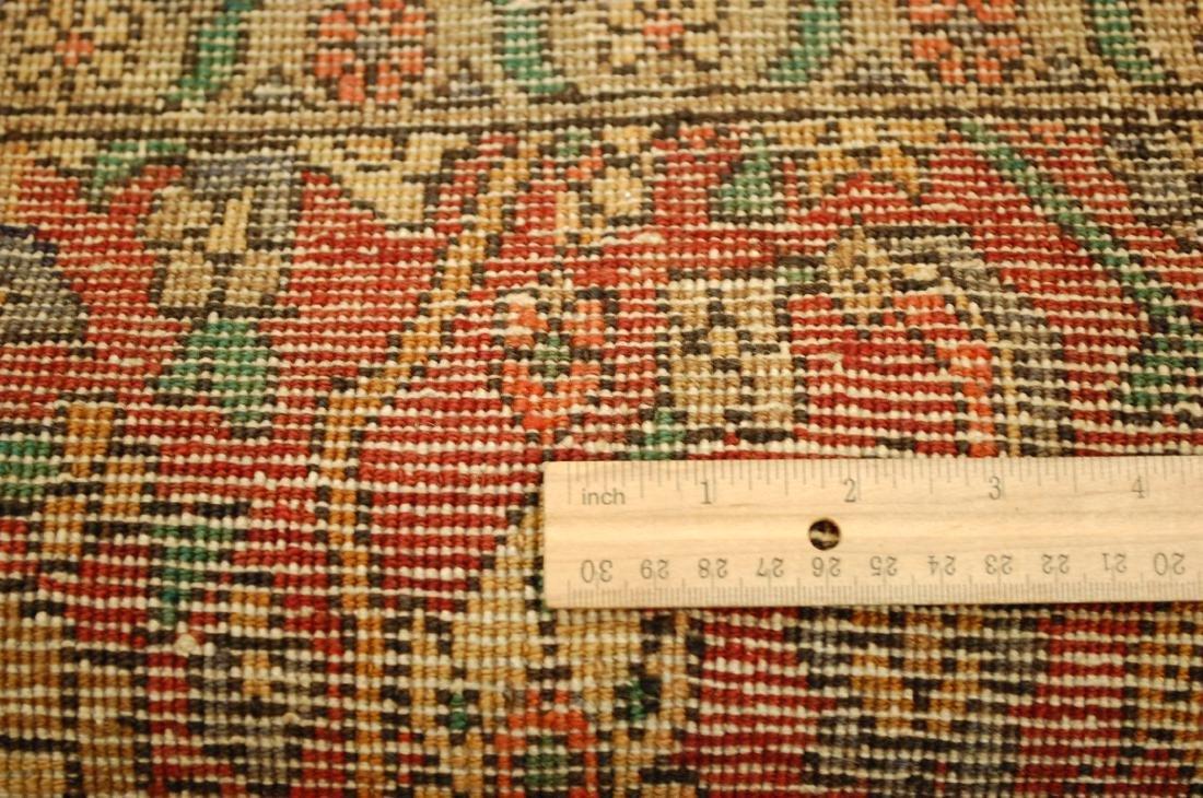 Highly Detailed Herati Design Persian Sarouk Rug 4.1x7 - 10