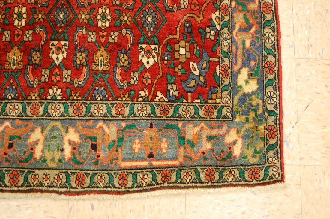 Highly Detailed Herati Design Persian Sarouk Rug 4.1x7 - 2