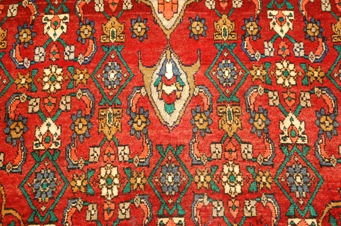 Highly Detailed Herati Design Persian Sarouk Rug 4.1x7 - 7