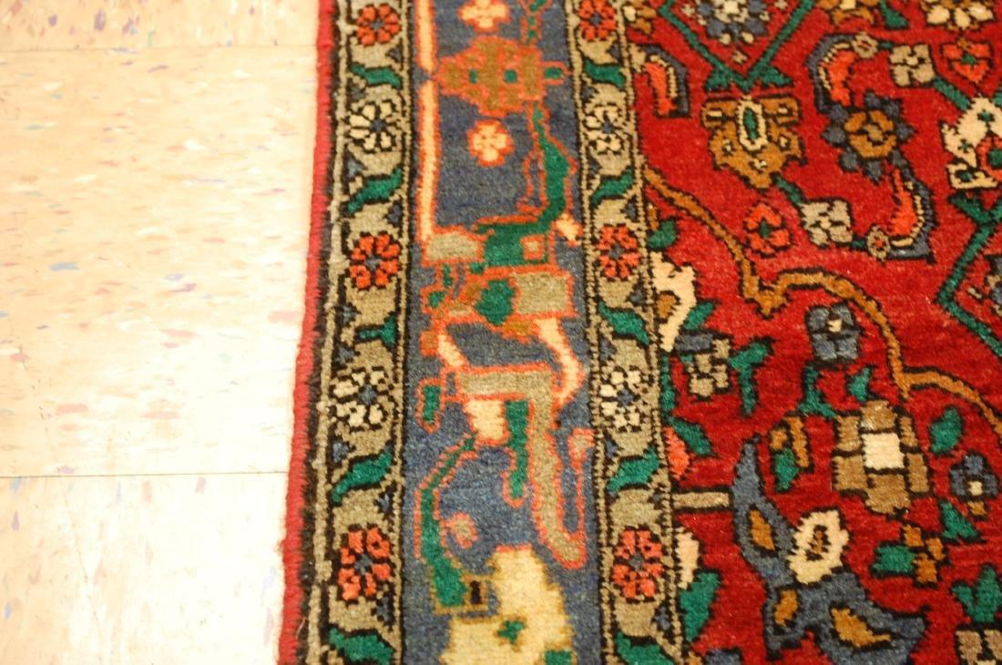 Highly Detailed Herati Design Persian Sarouk Rug 4.1x7 - 8
