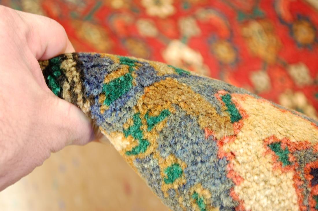 Highly Detailed Herati Design Persian Sarouk Rug 4.1x7 - 9