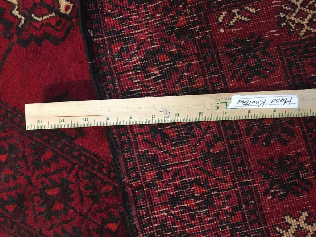Genuine Turkman Rug Hand Knotted 4x7 - 2