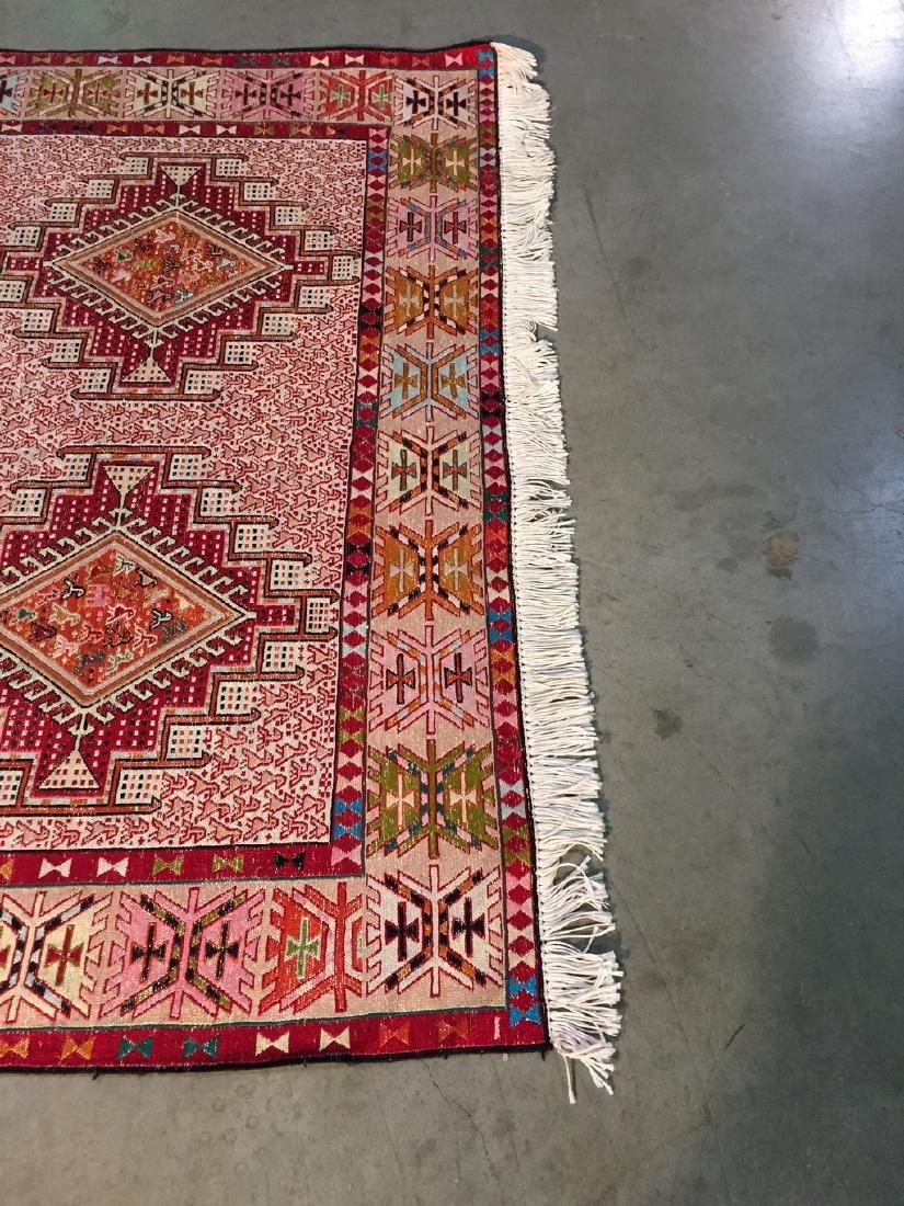 Persian Silk Kilim Rug 4x7 - 6