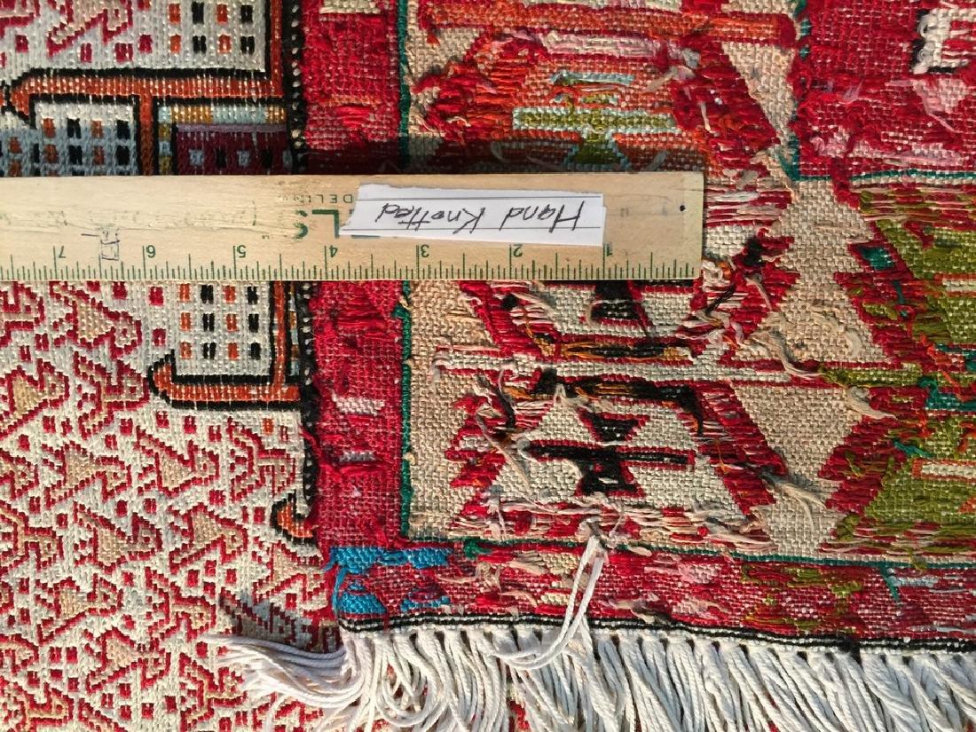 Persian Silk Kilim Rug 4x7 - 7