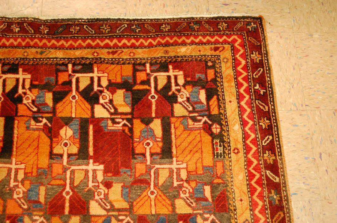 Caucasian Kazak Design Caucasian Rug 4.7x10.10 - 5