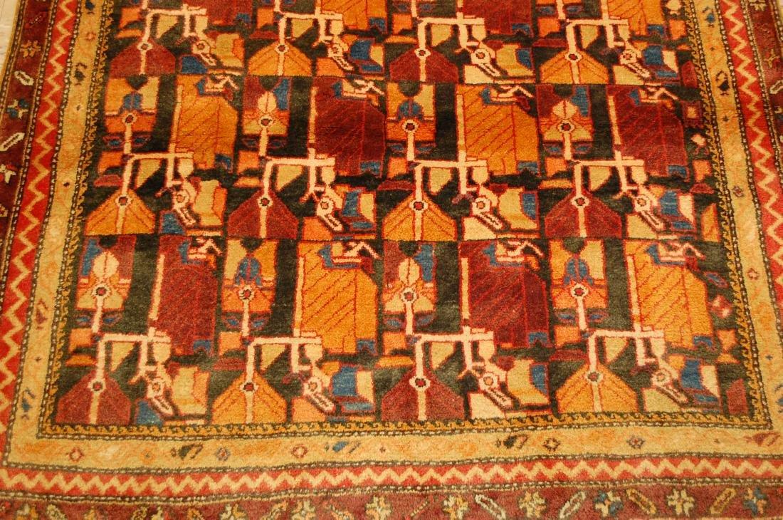 Caucasian Kazak Design Caucasian Rug 4.7x10.10 - 8