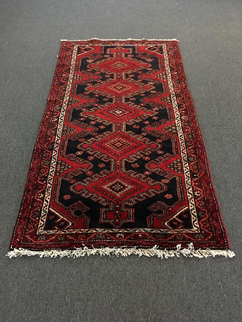 Hand Knotted Persian Rug 3.5x6.6