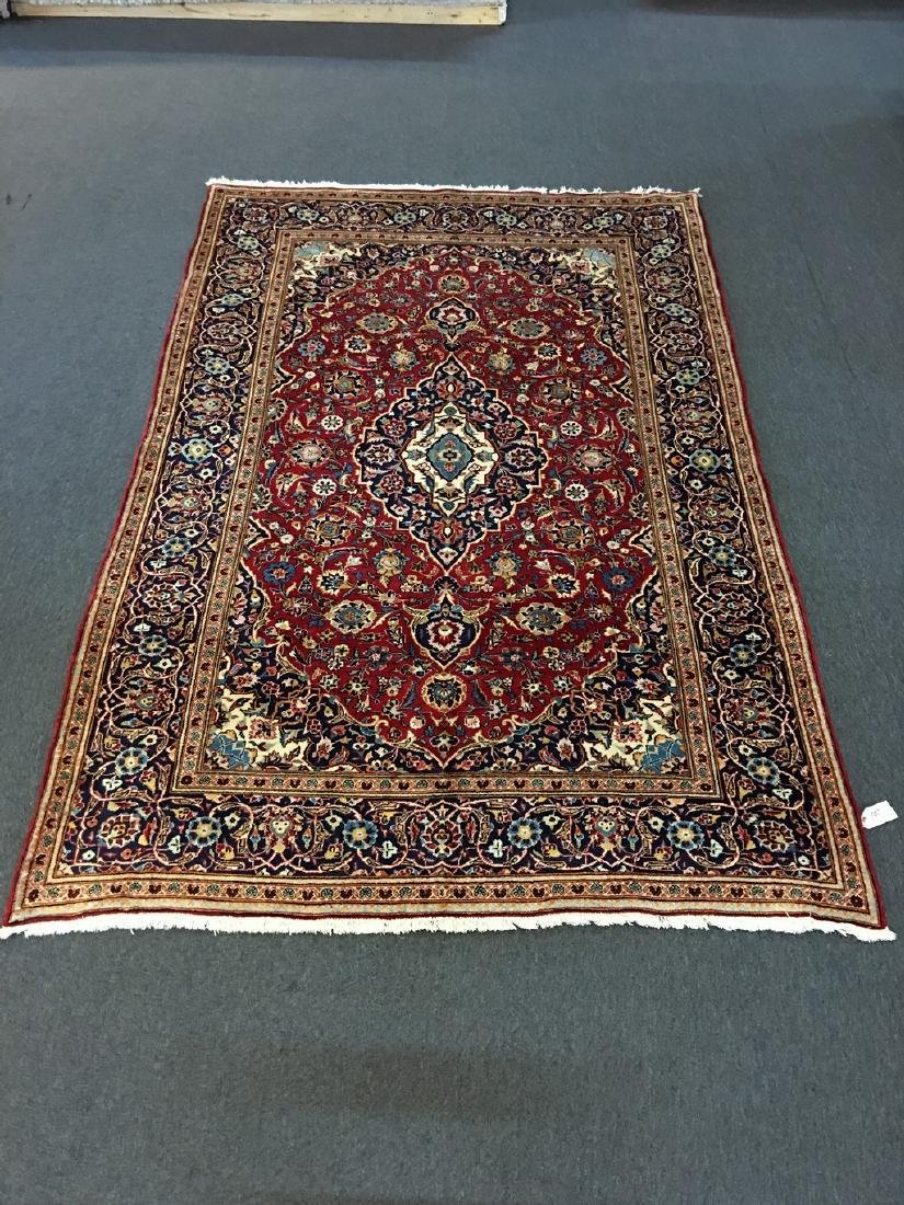 Authentic Persian Kashan Rug 6.5x9.10