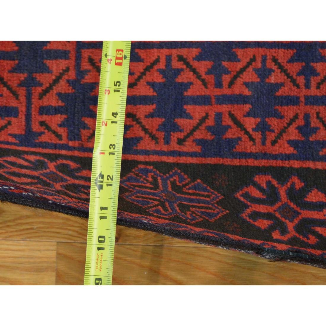 Tribal Design Persian Baluch Hand Made Rug 6.7x10.8 - 3
