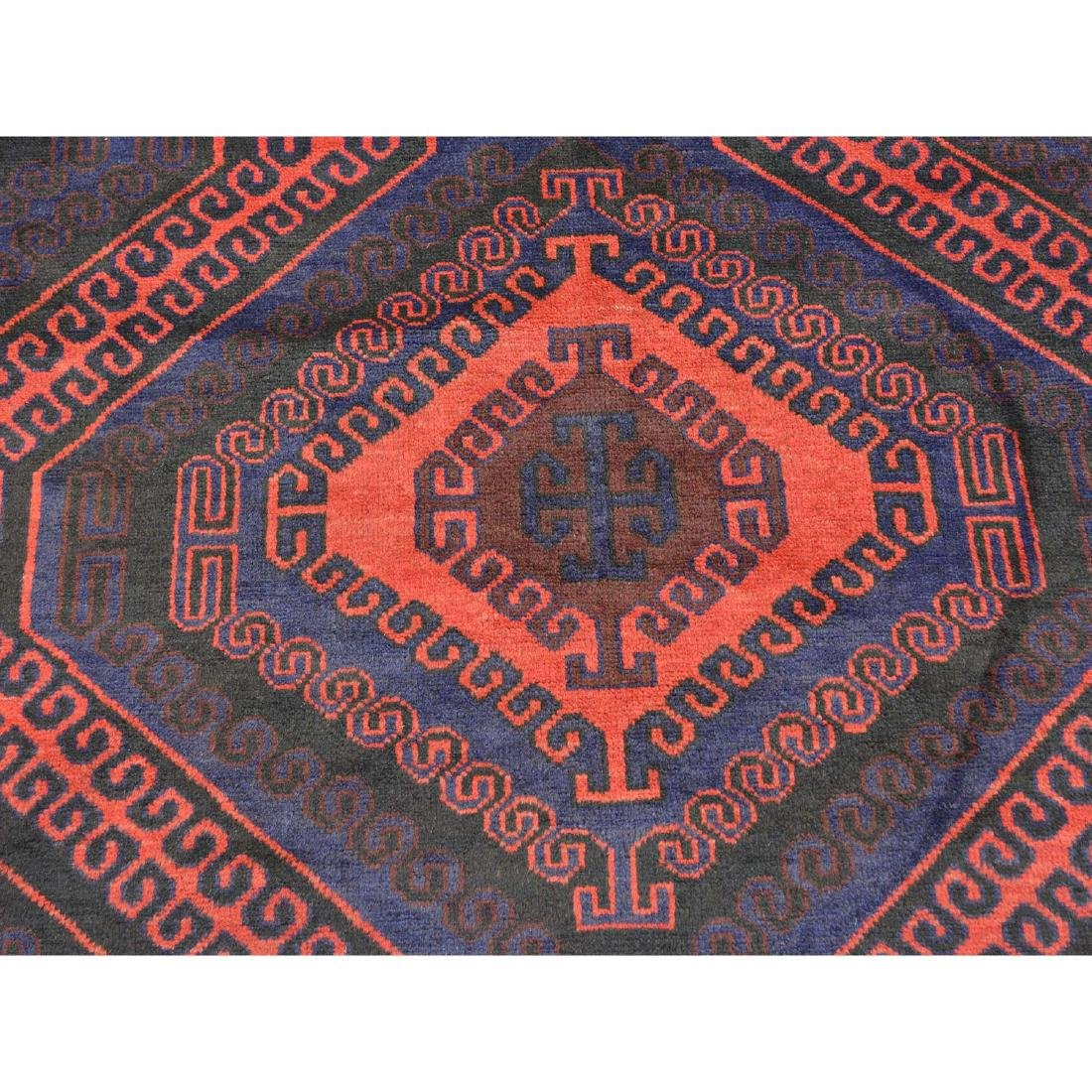 Tribal Design Persian Baluch Hand Made Rug 6.7x10.8 - 4