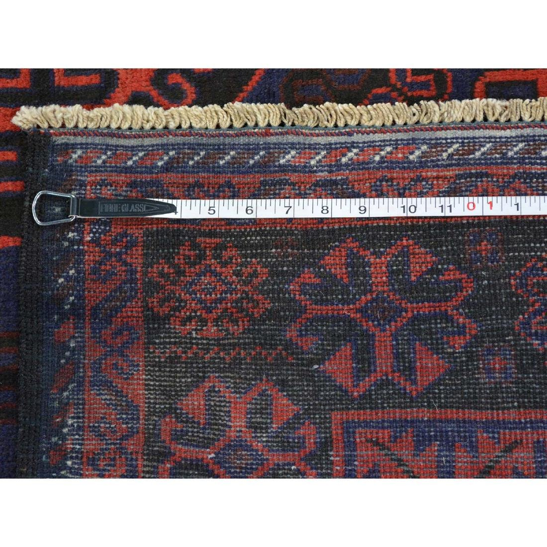 Tribal Design Persian Baluch Hand Made Rug 6.7x10.8 - 5