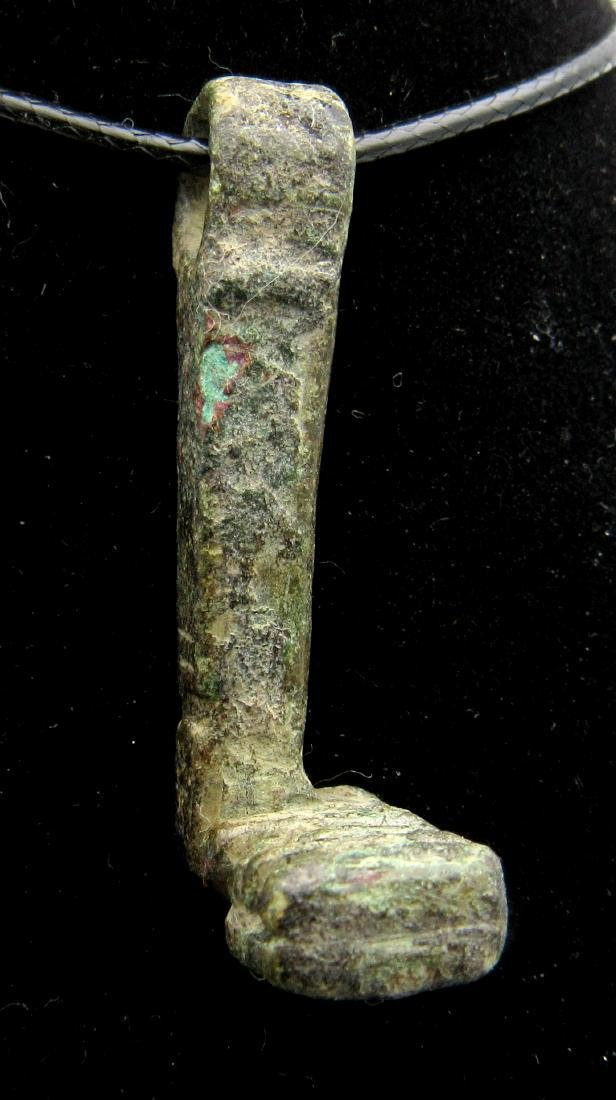 Ancient Roman Tumbler Key Ring - Hermes