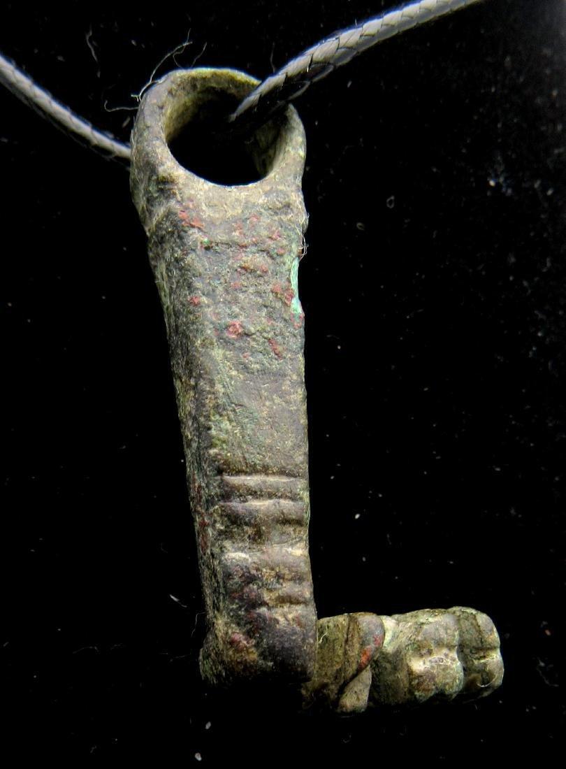 Ancient Roman Tumbler Key Ring - Hermes - 3