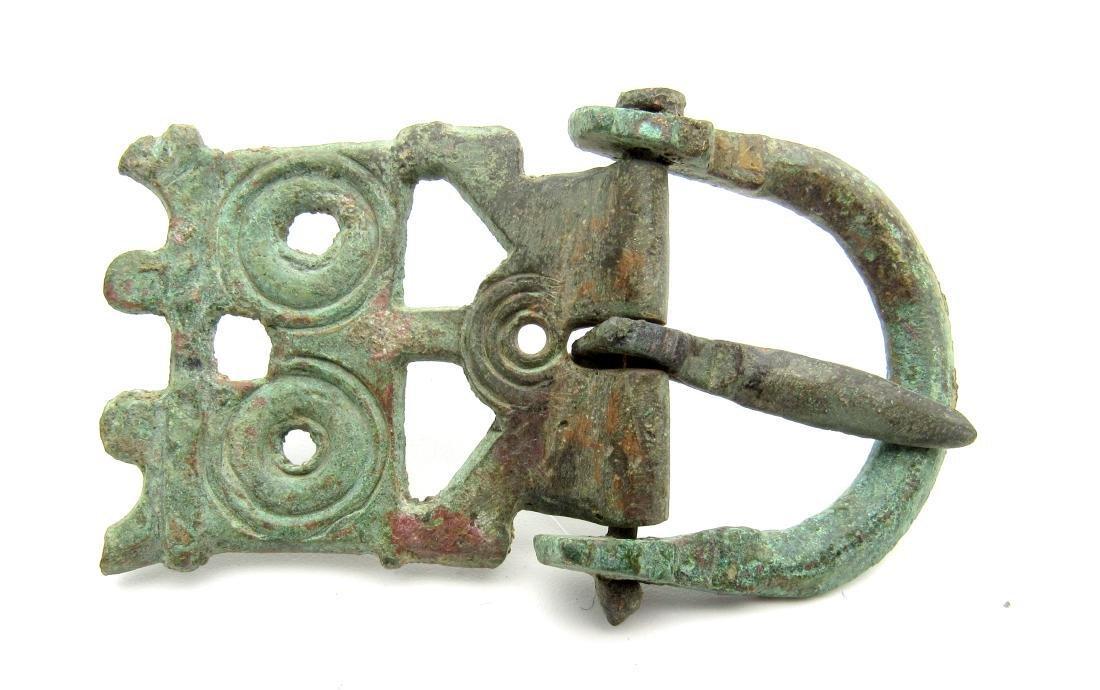 Roman Legioanry Belt Buckle with Hinged Plate