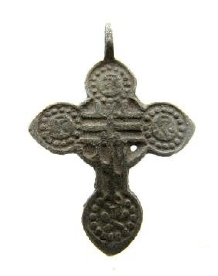 Late/post Medievaldecorated cross pendant