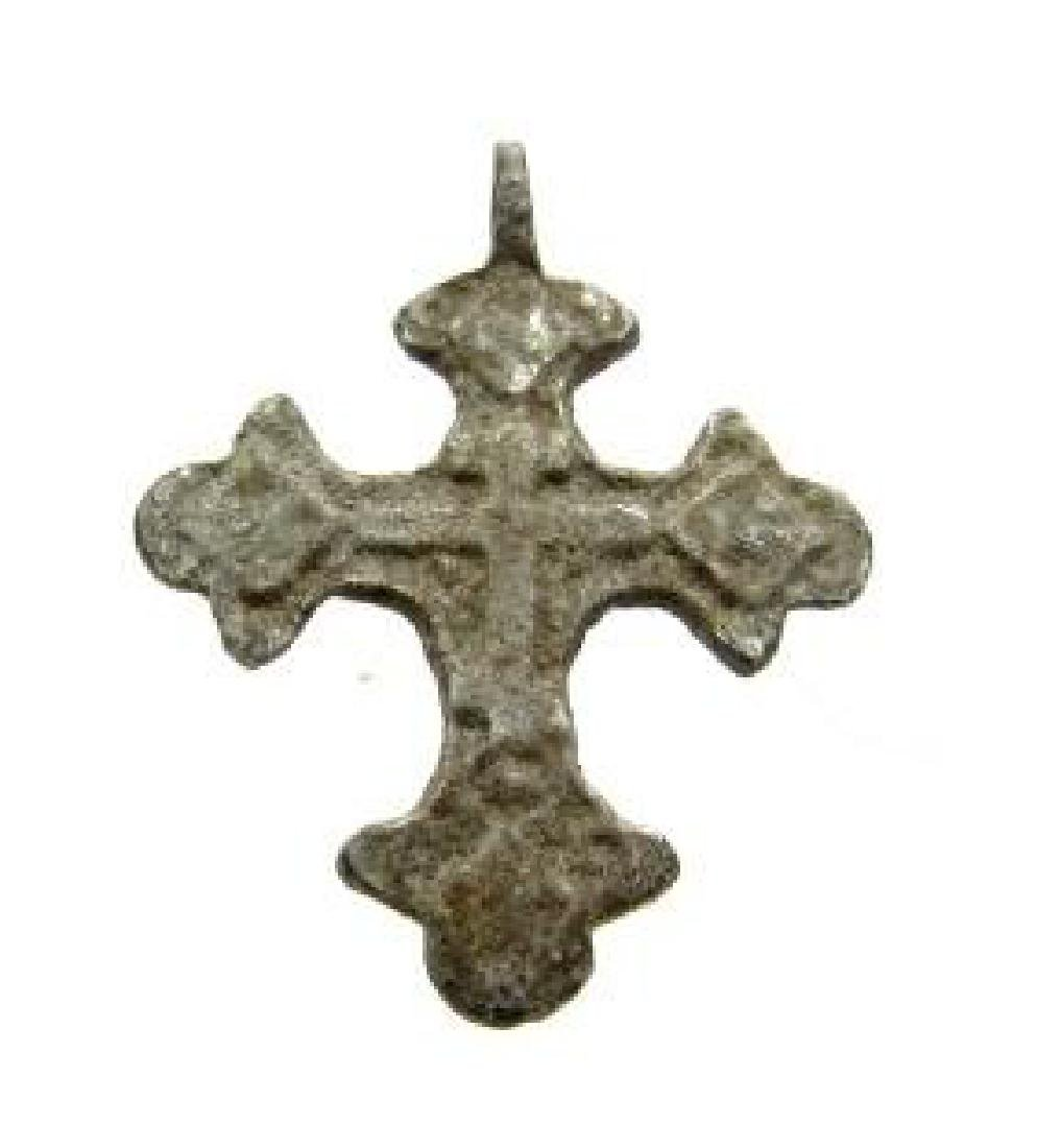 Late/ post Medievaldecorated cross pendant