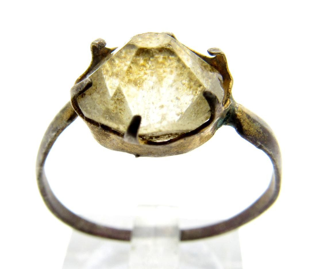 Antique Hallmarked Ring with Stone