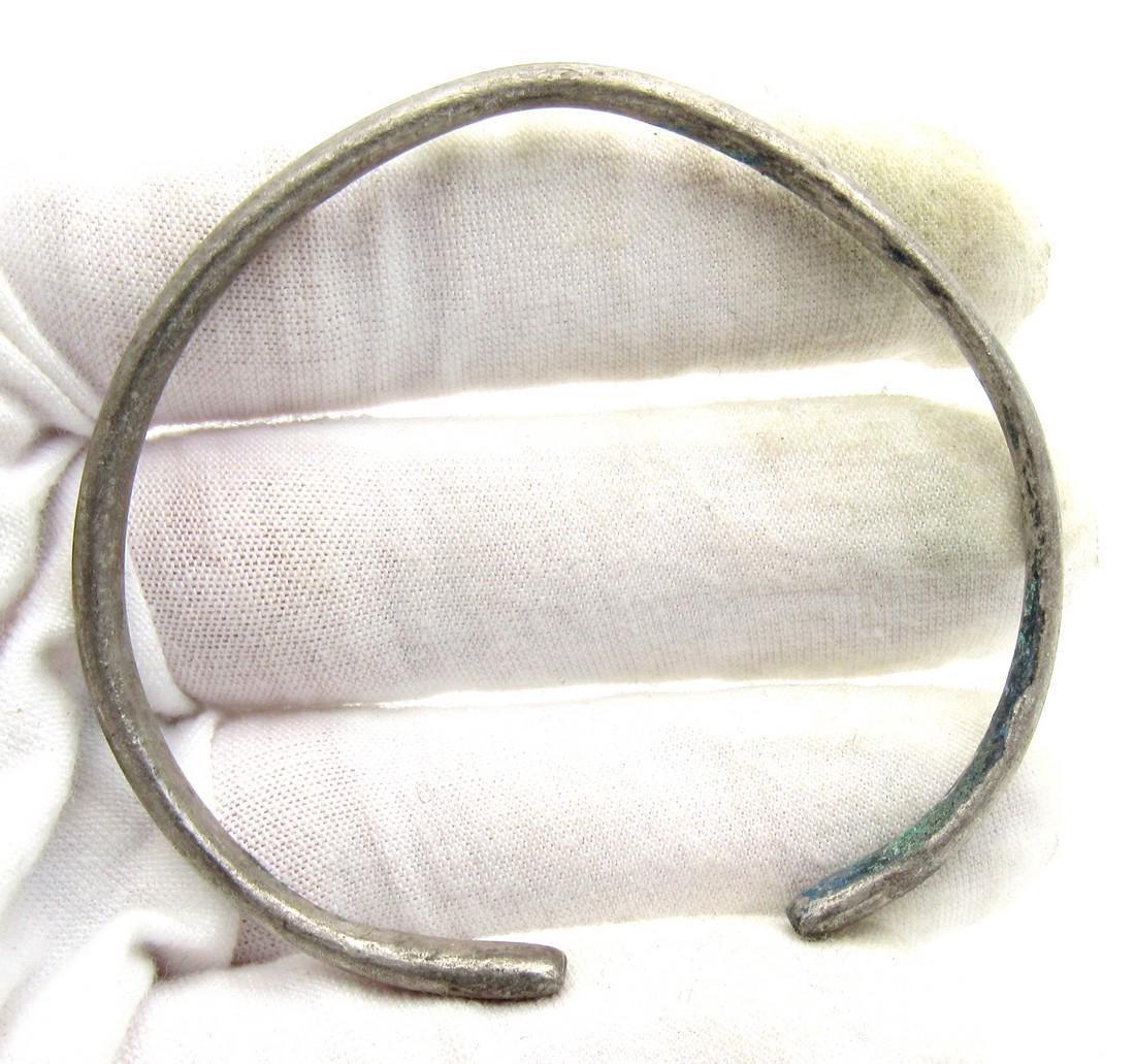 Medieval Viking Silver Bracelet - 3