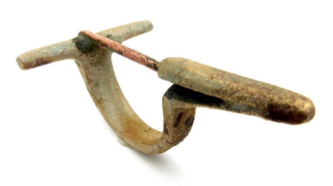Ancient Roman Bow Brooch - 3