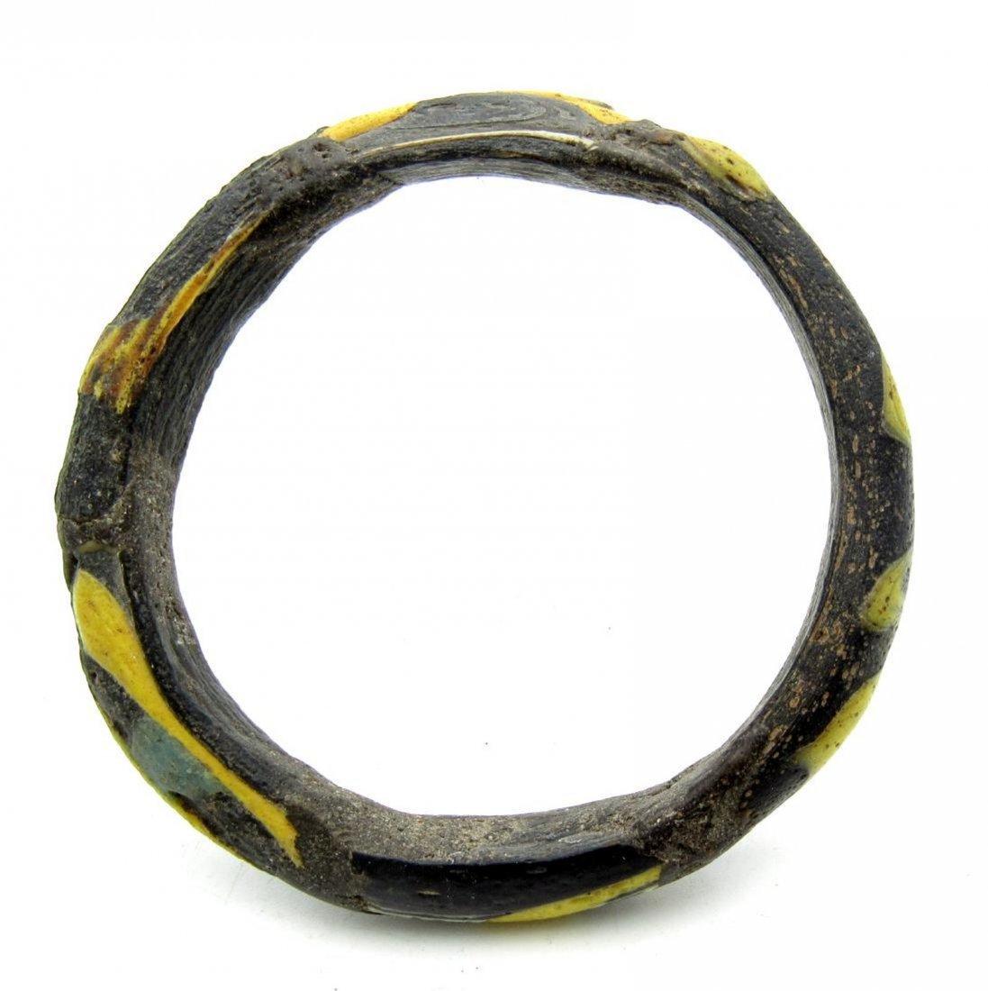 Ancient Byzantine Glass Bracelet - 2