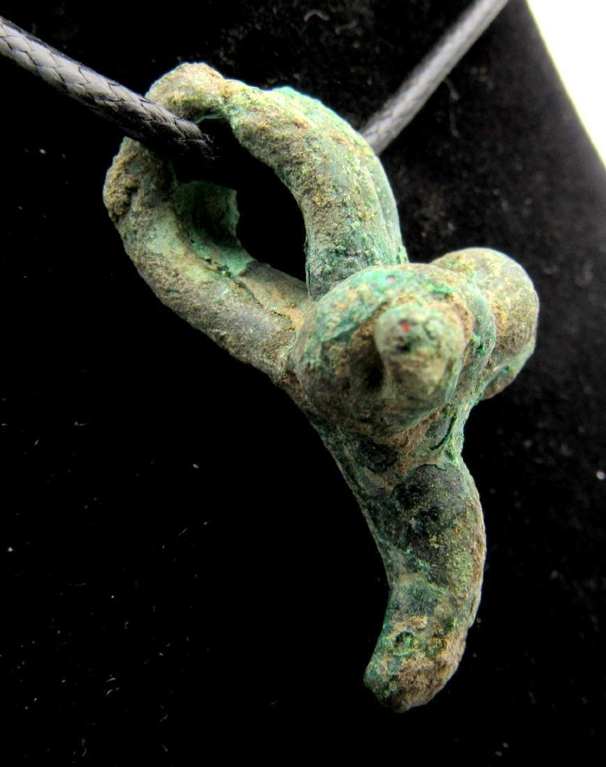 Medieval Viking Ram Head Pendant - 2