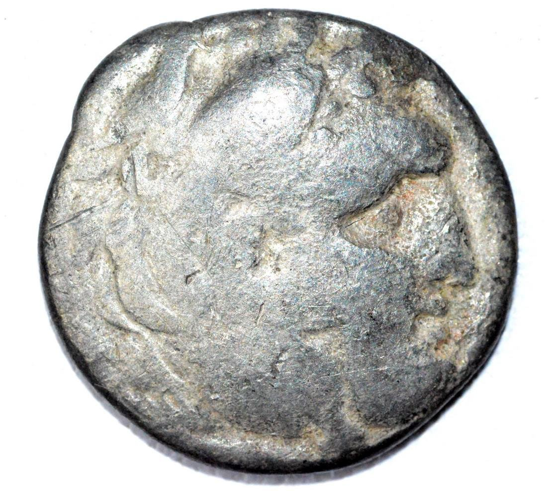 Anciner Greek AR Drachm of Alexander the Great