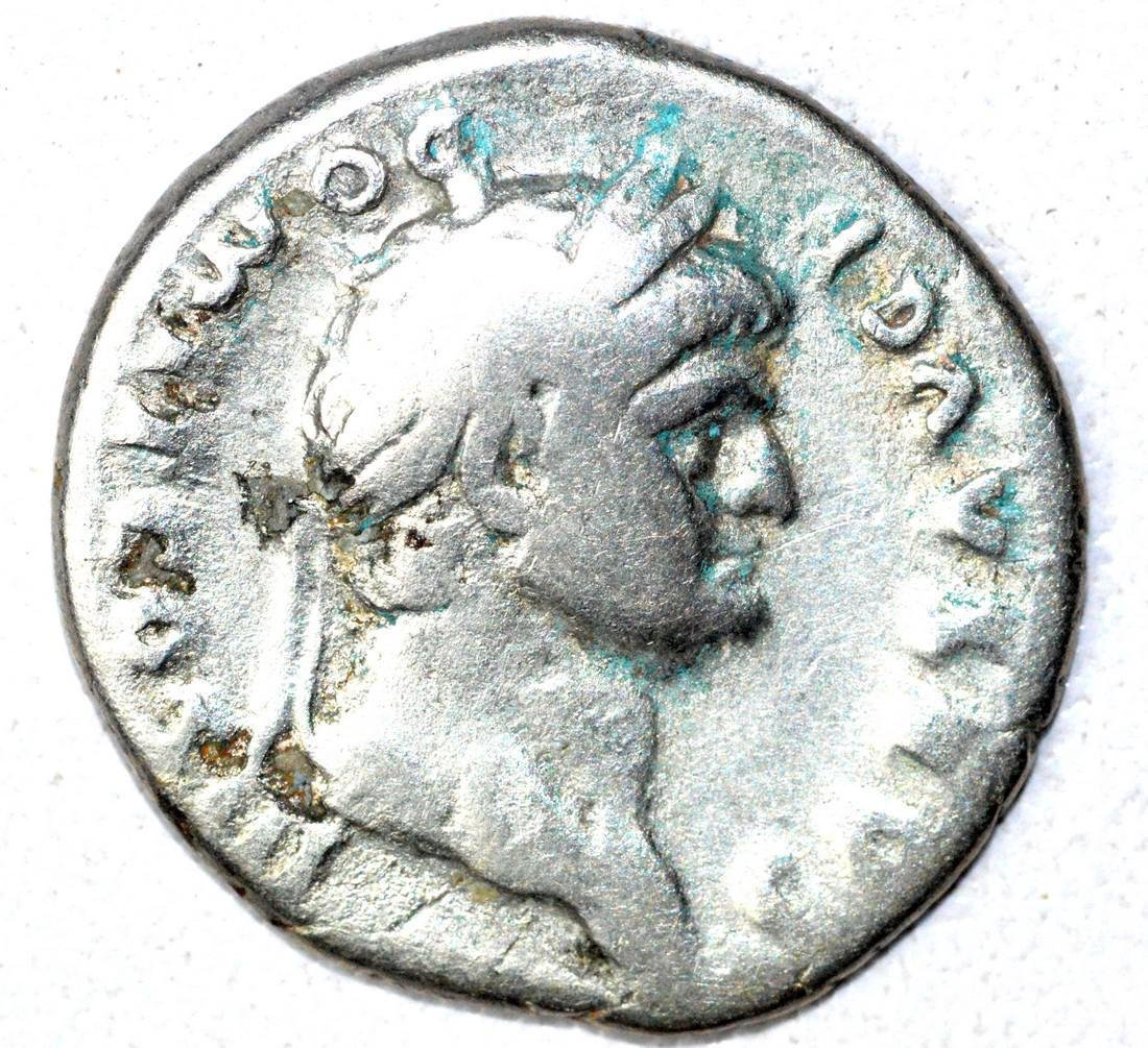 Roman AR Denarius of Dmitian, rv. Spes