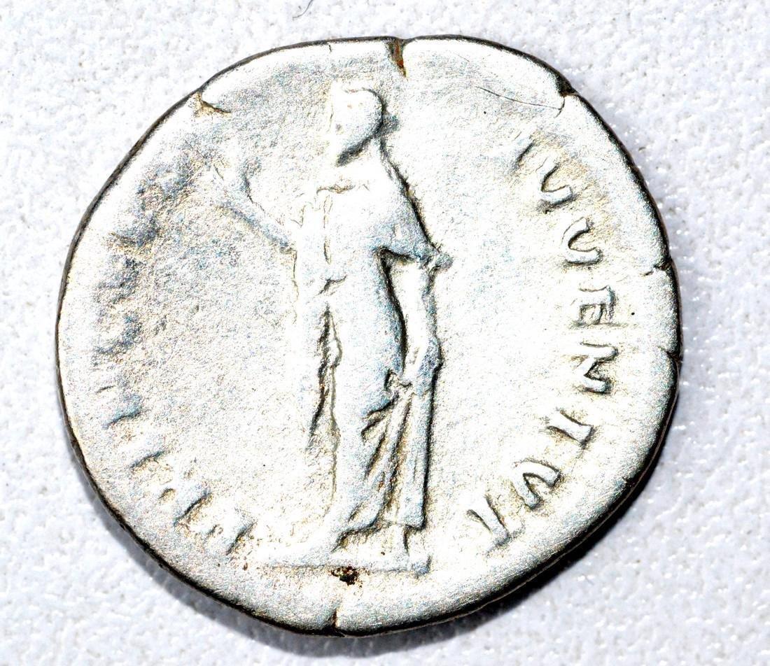 Roman AR Denarius of Dmitian, rv. Spes - 2