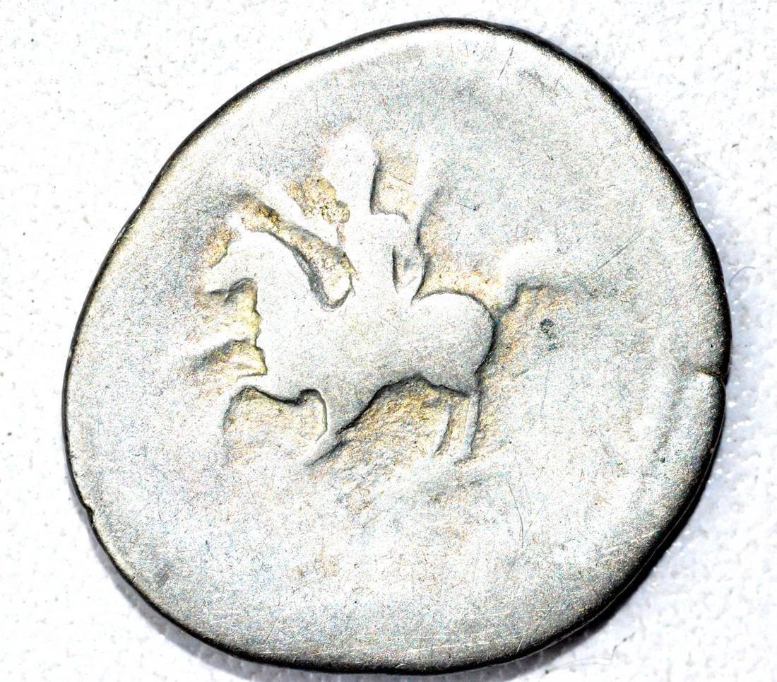 Roman AR Denarius of Dmitian, rv. Horseman - 2