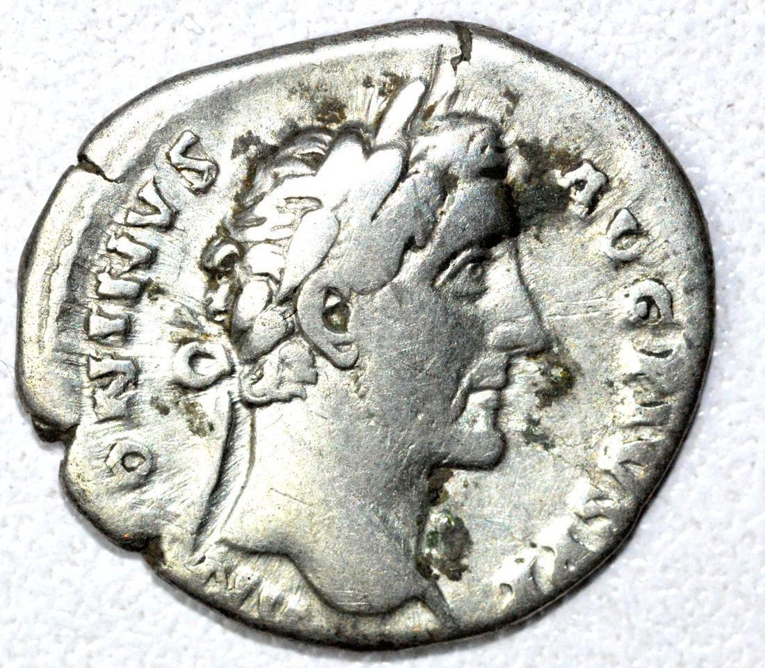 Denarius of Antoninus Pius, rv. Liberalitas