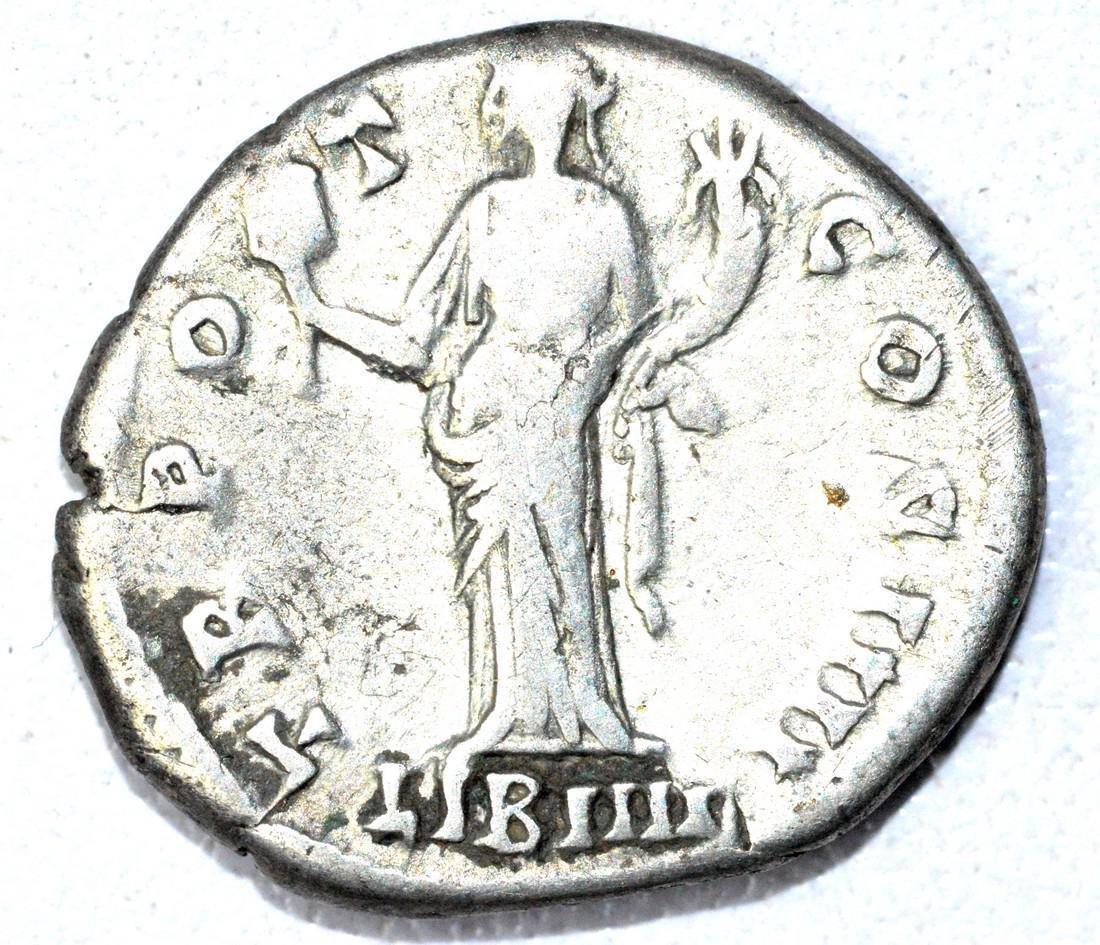 Denarius of Antoninus Pius, rv. Liberalitas - 2